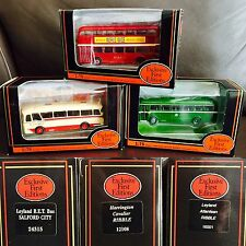 """Three Vintage Boxed Gilbow """"Exclusive First Editions"""" 1:76 Scale Die Cast Models"""