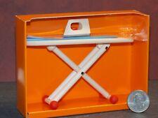 Dollhouse Miniature Ironing Board & Iron 1:10 H22 Bodo Hennig Dollys Gallery