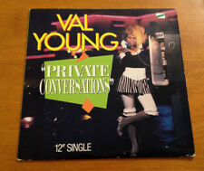 Val Young Private Conversations 12 Inch Vinyl Record 1983 Amherst Rick James