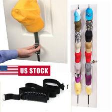 Adjustable Cap Rack Bag Hat Holder Home Organizer Storage Door Closet Hanger