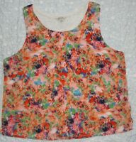 Women's Peacocks Lightweight Summer Floral Top UK 22