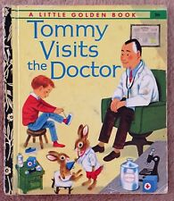 Tommy Visits The Doctor ~ Vintage Little Golden Book Sydney 266 ~ Richard Scarry