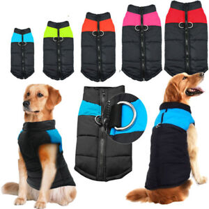 Waterproof Dog Clothes Winter Large Dog Coat Jacket Warm Vest S M L 3XL 5XL 7XL