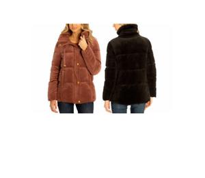 NEW!! Isaac Mizrahi Women's Velvet Puffer Jacket Variety #166