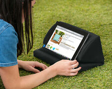 Black Outdoor iPad Kindle Tablet Book Stand Pillow Lap Rest Cushion Waterproof