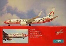 Boeing 737-800 Royal air Maroc - 60th Anniversaire ( Reg. Cn-rgv)