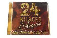 24 Kilates de Amor [Univision] by Various Artists (CD, Mar-2004, Univision Re...
