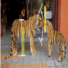 Giant Simulation Tiger Plush Soft Big Ridable Tiger Toy Decorate Gift 125cm*60cm