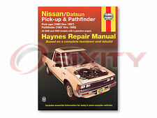 Nissan D21 Haynes Repair Manual E XE Base SE Shop Service Garage Book pq