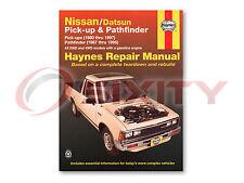 Nissan D21 Haynes Repair Manual E XE Base SE Shop Service Garage Book pq