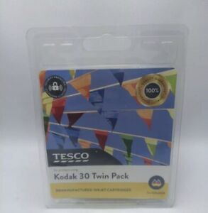 New Genuine Kodak 30 Twin pack remanufactured ink cartridges (colour)