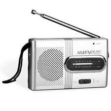 Tragbarer Mini Radio Taschenradio Reiseradio Mobil FM/AM Retro Design BC-R21