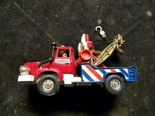 "Vintage Corgi Major Berliet Tow Truck Wrecker Red & Blue 5"" Long"