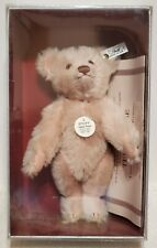 "Steiff Teddy Rose Bear, Replica 1925, LE, 407154, Mohair, 9"", NRFB w/shipper"