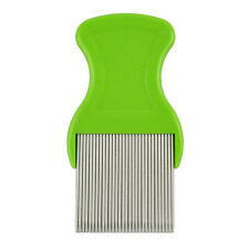 Dog Hair Lice Nit Pet Flea Eggs Dirt Dust Remover Steel Tooth Comb Health Brushs