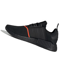 ADIDAS MENS Shoes NMD_R1 - Core Black & Solar Red - OW-EE5085