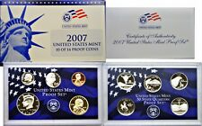 2007-S 10 Coin Proof Set OGP W/COA Fresh And Clean
