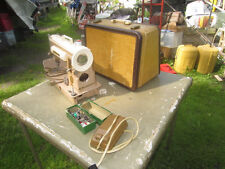 Singer Model 301A Sewing Machine With Original Case & Extras