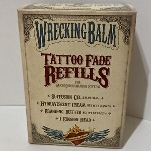 Wrecking Balm Tattoo Fade Refills for Microdermabrasion System Tattoo Removal
