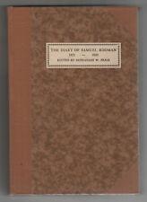 RARE DIARY OF SAMUEL RODMAN New Bedford HISTORY Zephaniah Pease MASSACHUSETTS