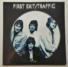 Traffic - First Exit LP 2018 UK Press Vogon 1967 Live Blue Vinyl  Mint SEALED