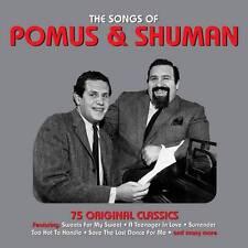 THE SONGS OF POMUS & SHUMAN - 75 ORIGINAL CLASSICS (NEW SEALED 3CD)