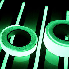 12mm Width Self-adhesive Luminous Tapes Strip Glow In The Dark Green Homes Decor