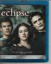 The Twilight Saga Eclipse Bluray! Movie-Only Edition! Romantic Fantasy! Teen Mov