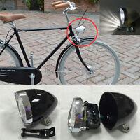 Super Bright 5LED Vintage Bike Bicycle Retro Headlight Front Fog Light Head Lamp