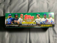 2020 Topps Baseball Complete Factory Set Series 1 & 2 Sealed Green Box