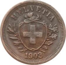 Schweiz, 1 Rappen 1903 B