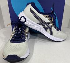 ASICS GEL-Excite 7 Women's Size 8.5 Beige/Blue AmpliFoam Running Shoes X5-1663