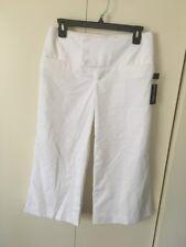 ALVIN VALLEY Pants Gaucho Gabardinr White 34 $242
