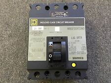 SQUARE D MOLDED CASE CIRCUIT BREAKER 20 AMP 480V 3 POLE FCP34020TF