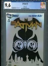 Batman #4  New 52  (Sketch cover)   CGC 9.6  WP
