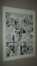 TEX WILLER TAVOLA ORIGINALE DI CARLO AMBROSINI DAL TEXONE N. 19 PAG. 189