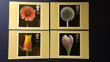 1987 FLOWER PHOTOGRAPHS BY ALFRED LAMMER STAMPS PHQ CARDSWITH LONDON E.C. F.D.I