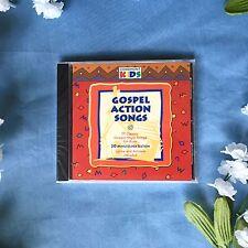 Cedarmont Kids Gospel Action Songs CD - 17 Classic Gospel-Style Songs For Kids
