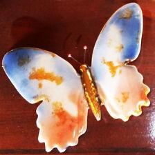 PORCELLANA farfalla farfalla animale scultura personaggio Casa Giardino Decorazione Abitazione