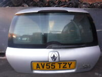 Renault Clio MK2 2001-2006 Rear Tailgate Boot Silver TED69