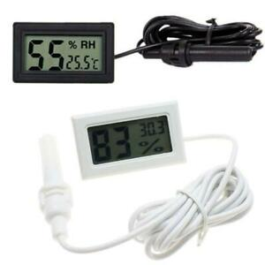 FY-12 Digital Thermometer Hygrometer LCD Display Temperature Humidity Measure
