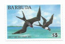 #186 Barbuda Mint - CAT $8.00 Stamp