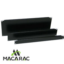 "2U BLANK / FILLER PANEL (19"" Inch 2U Rack-Mount Application / Steel)"