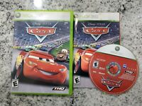 Cars (Microsoft Xbox 360, 2006) Complete w/ Manual Free Fast Shipping