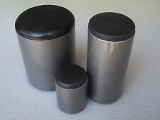 """Plastic Cap Insert Covers the open end of 5/8"""" Round Tube 14-20 gage wall/ 4 PK"""