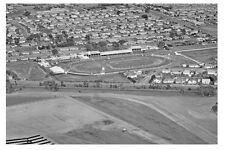 SANDOWN PARK Greyhound race track aerial 1963 modern Digital Photo Postcard