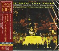 EUGENE ORMANDY-RESPIGHI: THE GREAT TONE POEMS-JAPAN CD Ltd/Ed B63