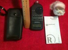 Radio Shack Digital Sound Level Meter Tester with Case & Manual  XLNT