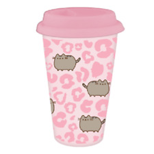 Pusheen The Cat Wild Side Travel Mug Plastic - Officially Licenced