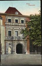 AK  Schlesien Brieg Piastenschloß Schloss Feldpost 1917